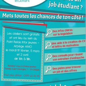 Permanence Infor Jeunes : Action Job Etudiant