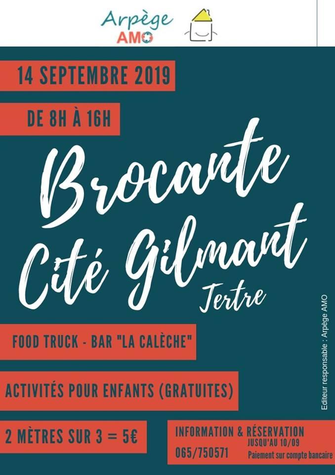 Brocante Cité Gilmant 14/09/2019