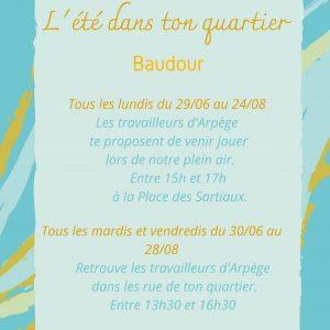 L'été dans les quartiers de Baudour