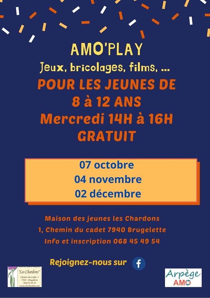 "AMO'Play à la MJ ""Les Chardons"""