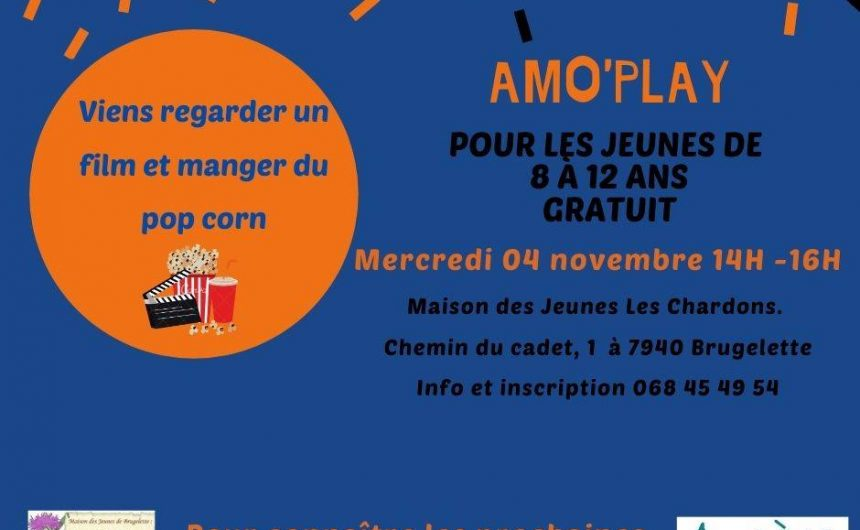 AMO'Play le 04 novembre 2020