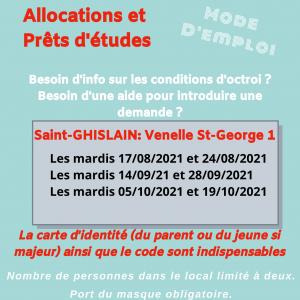 Point Relais Infor Jeunes – Allocations et prêts d'études